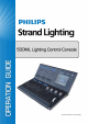 Philips Strand Lighting Operation Manual