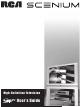 RCA Scenium User Manual