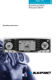 Blaupunkt Hamburg CD70 Operating Instructions Manual