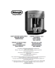 DeLonghi EAM3200 series Instruction Manual