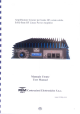 RM Italy HLA305 User Manual