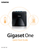 Siemens Gigaset One Quick Start Manual