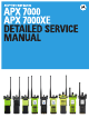 Motorola APX 7000 Detailed Service Manual