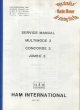 Ham International Multimode 3 Service Manual