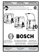 Bosch CET4-20 Operating/safety Instructions Manual