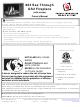 Travis Industries 864 Owner's Manual