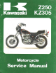 Kawasaki 1979 Z250 Service Manual