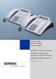 Siemens HiPath 500 Operating Instructions Manual