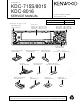 Kenwood KDC-715S Service Manual