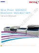 Xerox Phaser 6020 Service Manual