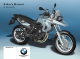 BMW F 650 GS Rider's Manual
