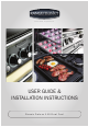 Rangemaster Classic Deluxe 110 User's Manual & Installation Instructions
