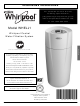 Whirlpool WHELJ1 Installation Instructions Manual