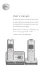 AT&T EL52200 User Manual