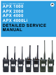 Motorola APX 1000 Detailed Service Manual