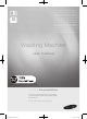 Samsung WF1804WSC User Manual