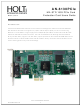 Holt AN-6130PCIe MIL-STD 1553 User Manual