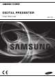 Samsung SDP-760 User Manual