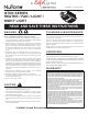 NuTone QTXN110HL Instructions