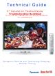 Panasonic TH-37PX60U Technical Manual