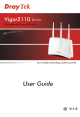 Draytek Vigor 2110 Series User Manual