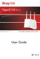 Draytek Vigor 2110 Series User Manual