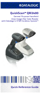 Datalogic QuickScan QM2400 Quick Reference Manual