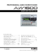 Yamaha AW-1600 Service Manual
