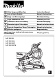 Makita LS1016 Instruction Manual