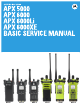 Motorola APX 5000 Service Manual