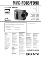 Sony MVC-FD85 Service Manual
