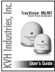 KVH Industries tracvision m5 User Manual