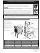 Frigidaire FEB24S2AB Installation Instructions Manual