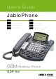 JabloCom GDP-04i User Manual