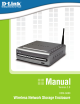 D-Link D-Link DSM-G600 Instruction Manual