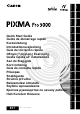 Canon Pixma Pro 9000 Quick Start Manual