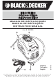 Black & Decker ASI300 Instruction Manual