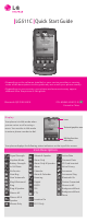 LG LG511C Quick Start Manual