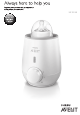 Philips avent scf355 User Manual