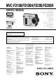 Sony MVC-FD100 Service Manual