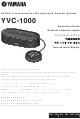 Yamaha YVC-1000 Quick Start Manual