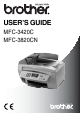 Brother MFC-3420C User Manual