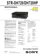Sony STR-DH720 Service Manual