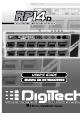 DigiTech rp14d User Manual