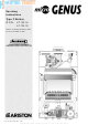 Ariston microGenus 23 MFFI Servicing Instructions