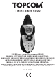Topcom TwinTalker 6800 User Manual
