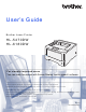 Brother HL-5470DW User Manual