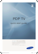 Samsung PDP TV 4 Series Quick Start Manual
