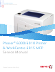 Xerox Phaser 6000 Service Manual