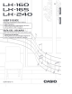 Casio LK-165 User Manual